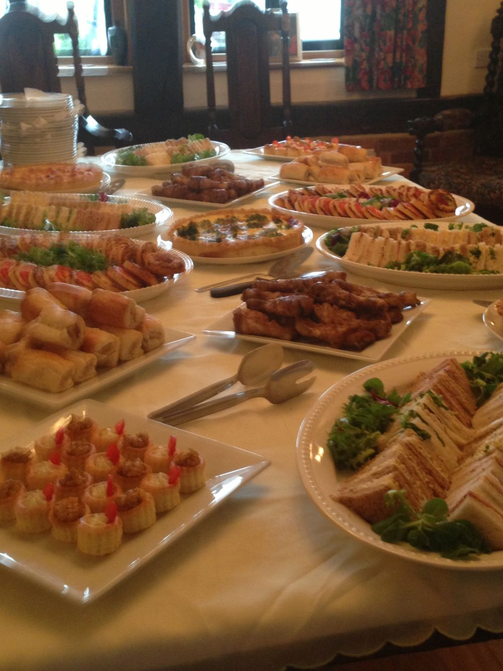 Funeral Finger Buffet Menus Green Fig Catering In Sussex