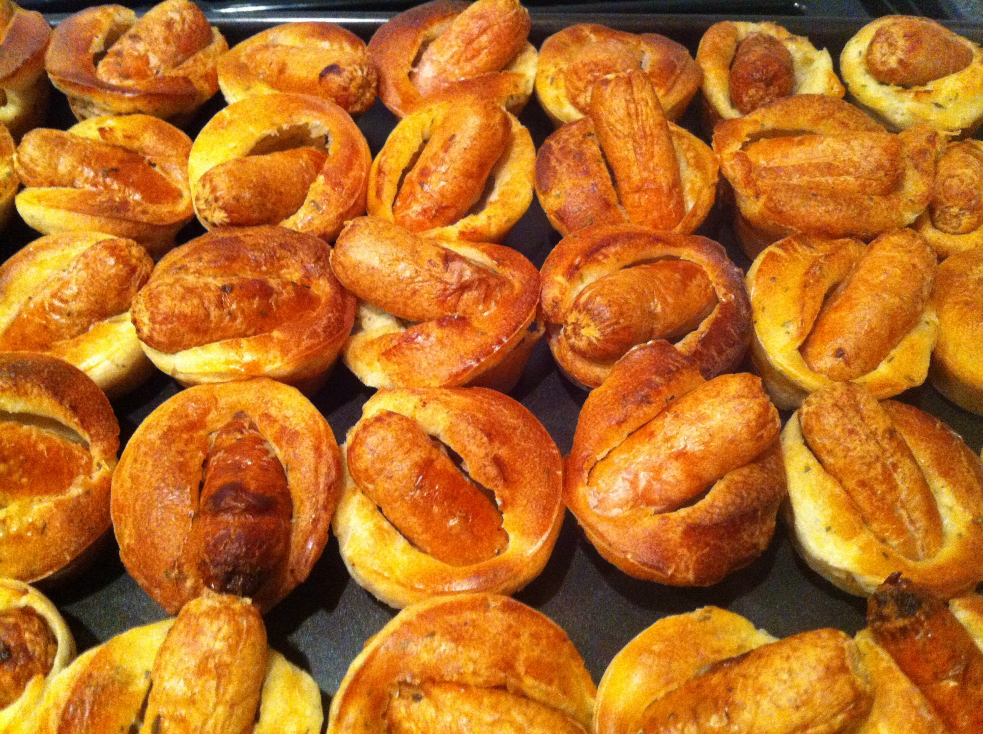 Mini Toad In The Hole Green Fig Catering Company