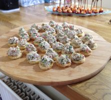 Thai Crab Chilli Toasts - Canapes