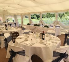 Milwards House Marquee