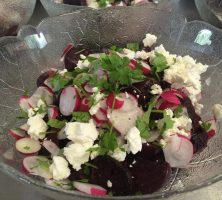 Beetroot & Goats Cheese Salad