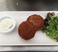 smoked cod fishcakes