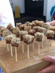 sticky pork belly lollipops