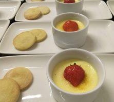 lemongrass crème brulee