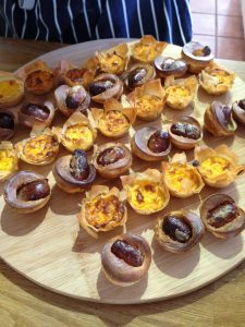 Warm Canapes