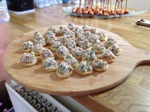 Thai Crab Chilli Toasts - Canapes