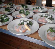 Smoked Salmon & Mackerel Roulade