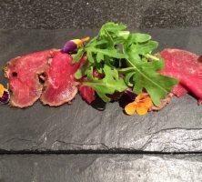 Carpaccio of Beef Starter