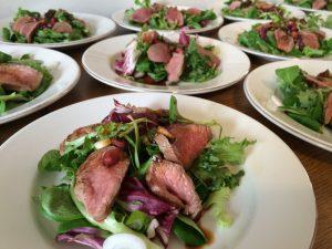 Asian Lamb Fillet Salad