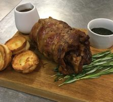 Slow-roast lamb